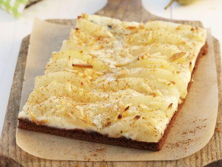 Rezept: Birnen-Tarte